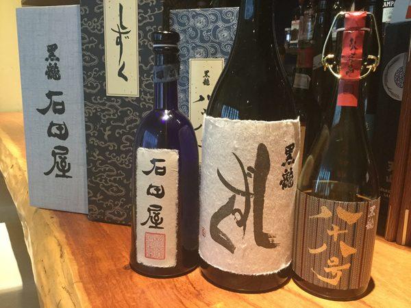 日本酒好き集まれ!希少な黒龍!【石田屋】【八十八号】【しずく】入荷しております!今がチャンス!!今夜お席あいております。