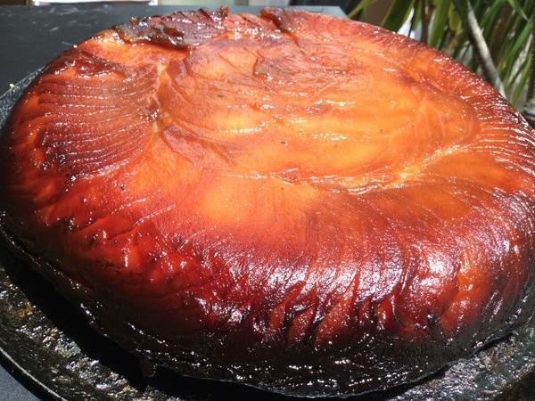 美味しい【タルトタタン】できあがりました!今日・明日の土日お席ゆったりのんびりです。